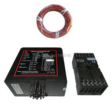 220/110VAC 24V/12V AC/DC PD132 Traffic Inductive Loop Vehicle Detector Signal Control with 50m Red Induction Coil Wire