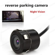 best selling PAL 170 Wide Angle Car Styling rear view camera Night Vision CCD reverse parking camera Waterproof(China)