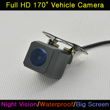 Universal CCD HD 520TV Car Auto Back Up Reverse Backup Night Vision Rear View Camera Waterproof HD 170 Degree Parking Assistance(China)