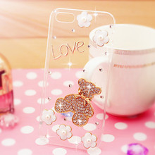2017 Fashional Diamond Style Phone Case Shell for Meizu Pro 6 Bling Cartoon Pattern Cell Phone Case for Meizu Pro 6