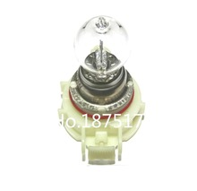 10Pcs PSX24W 4300K Car Bulbs Head Lamps Fog Auto Halogen Lamp DC12V 24W Automotive Clear Glass Halogen Bulbs(China)
