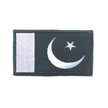 3D embroidery armband  Pakistan flag patch  Military Tactical Clothing Backpack Caps Turkey flag patch badges