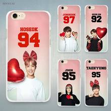 BTS Bangtan Number colorful Hard White Cell Phone Case Cover for Apple iPhone 4 4s 5 5C SE 5s 6 6s 7 8 Plus X(China)