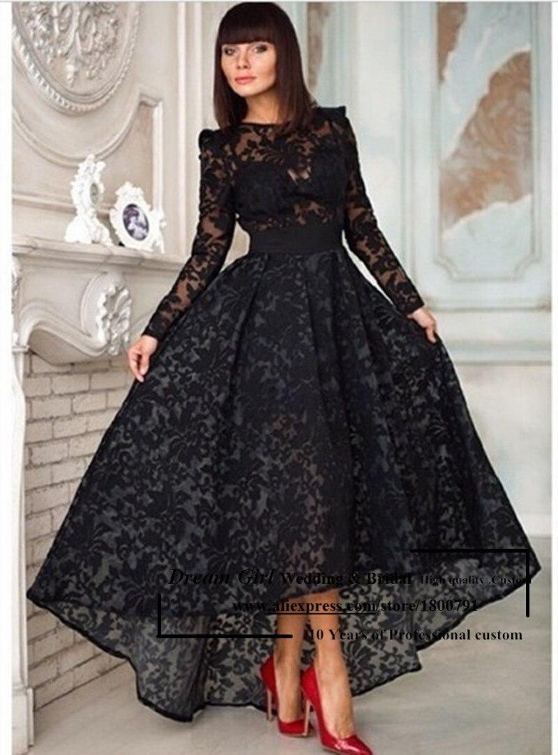 Фото вечерних платьев черного цвета