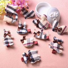 2017 Lattice Bear Kitten Butterfly Kids Hair Clips Children Headwear Girls Hair Accessories Baby Hairpins Princess Barrette