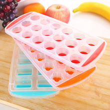 1PC Hot Ice Cream Tools Freeze Mould Bar Jelly Candy Chocolate Molds Newly Maker Silicone Ball Shaped Ice Cube Tray