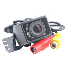 E327 Waterproof Car Reversing Backup Camera CMOS/CCD 9 IR LED Night Vision Wide Viewing Angle HD Auto Rear View Parking Camera
