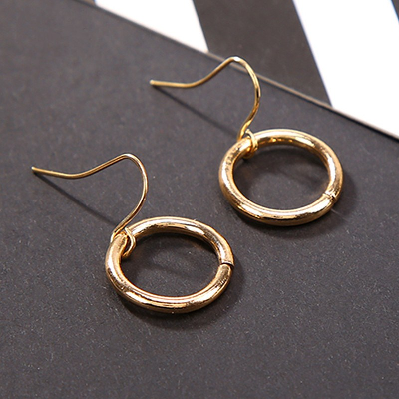 ES2073-Simple-Drop-Earrings-For-Women-Minimalist-Punk-Circle-Dangle-Earring-Brincos-Geometric-Bijoux-pendientes-mujer