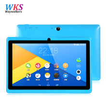 "7"" Tablet PC Android 4.4 Google A33 Quad-Core 1G-16GB Bluetooth WiFi FlashTablet PC Quad Core Q88 Tab Support 3G External"