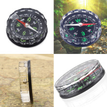 New Arrival Pocket Survival Button Design Compass Derection for Climbing Hiking Camping Outdoor Sport(China)