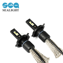 SEALIGHT H4 Led Car Headlight car-styling Auto H4 Hi/lo HB2 9003 High Low 70W 8000LM White 6000K Bulb Repalcement Xenon Headlamp