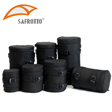 Safrotto Professional Camera Bag Photographic Accessory Waterproof Camera Lens Case Bag Black Shockproof Pouch For Canon Nikon(China)