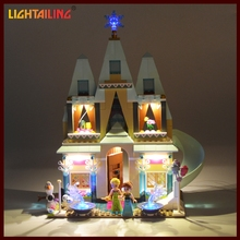 LIGHTAILING LED Light Up Set For Elsa Anna Arendelle Castle Celebration Model Compatible with 41068 Model Light Set Toy