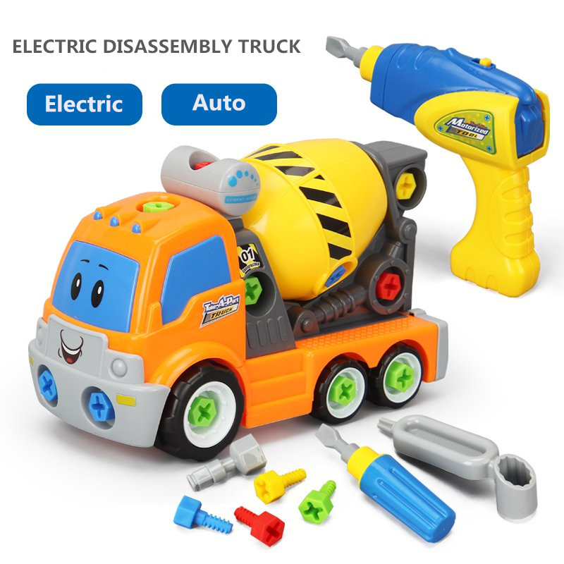 Toys For Boys Toddler Take Apart Build A Car Construction Mechanic Kids Gift New
