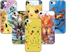 Print Cartoon Pokemons Case For Samsung Galaxy E5 E7 i9082 S2 S3 S4 S5 Mini S6 S7 Edge Plus Note 3 4 5 Phone Cover Coque Capa(China)