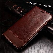 PU Leather Case for iPhone 5 5S SE Flip Stand Design Phone Back Cover Wallet with Card Slot Black Brown White Color