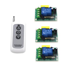 AC 220V 30A 1 Channel Wireless Remote Control Switch Digital Remote Control Switch for Lamp & Light SKU: 5237(China)