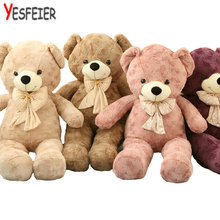 60/80cm Plush toys teddy bear stuffed animal doll baby toys big embrace bear doll lovers christmas gifts birthday gift(China)