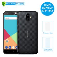 Ulefone S7 Pro Dual Rear Cameras Mobile Phone 5.0 inch HD MTK6580 Quad Core Android 7.0 2GB RAM 16GB ROM 13MP Cam 3G Cellphone(China)
