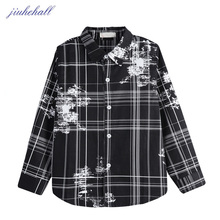 6-15 Years Kids Long Sleeves Turn-down Collar Designs Shirts For Big Boys Spring Autumn Clothes Children Black Shirts G1068(China)