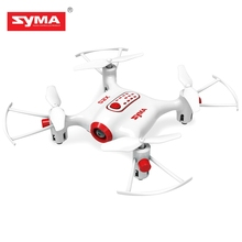 SYMA X20 RC Drones 2.4GHz 4CH 6-axis Gyro Pocket Drone Dron One Key to Take off 3D Flip Flying Helicopter RTF Kids Xmas Gifts(China)