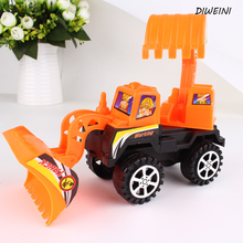 1 Pcs/set Creative child bulldozers digging machine toy car model children's toys educational toys creative engineering vehicles(China)