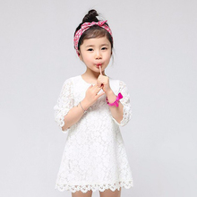 Summer New Designs Kids Lace Princess Girl Dress Children's Clothing Smock Frock Baby Costume For Kids Party Clothes School Wear