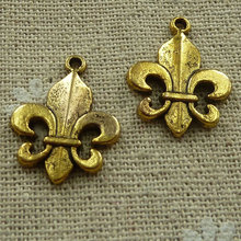 210 pieces Antique gold nice charms 22x17mm #2483