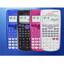 Scientific digital Calculator Dual Power student computer science calculator calculadora cientifica free shipping(China)
