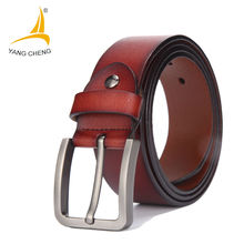 [CNYANGCHENG]Male Genuine Leather Strap Belt Buckle Cummerbunds Luxury Belts For Men Designer Belts Men High Quality Waist Strap(China)