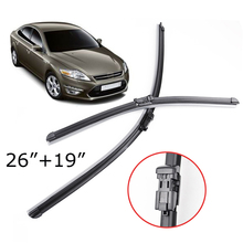 Misima Windshield Windscreen Wiper Blades For 2007-2014 Ford Mondeo MK4 Front Window Wiper Blade 2008 2009 2010 2011 2012 2013(China)