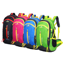 High Quality Nylon Waterproof Hiking Backpack Outdoor Sports Bag Rucksack Mountaineering Bag unisex Travel Bags Back pack