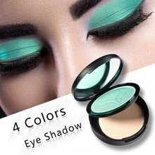 4 Color Glitter Eye Shadow Powder Highlights Pearl Pressed Powder Sexy Women Contour Powder Cosmetic Beauty Supplies