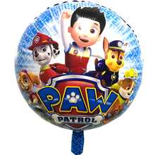 July Forest 50 pces/ 18inch Patrolling Foil Balloons DOG Helium Balloon Patrulla Canina Toys Patrolling Party Decora(China)