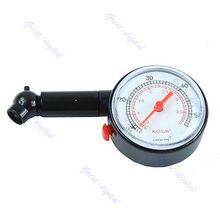 3pcs/lot New Car Vehicle Motorcycle Dial Tire Gauge Meter Pressure Tyre Measurement Tool Drop shipping(China)