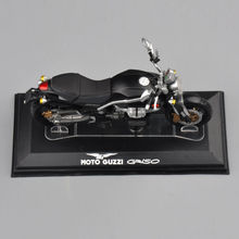 1/22 Diecast Motorcycles Model Black Starline MOTO Guzzi Criso Motorcycle Model Collectible brinquedos kids Toys