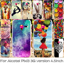 TAOYUNXI Phone Case For Alcatel OneTouch Pixi 3 4.5 inch 3G Version 4027 4028 4027X 4027D 4027N 4028A 4028D Plastic Bag Covers