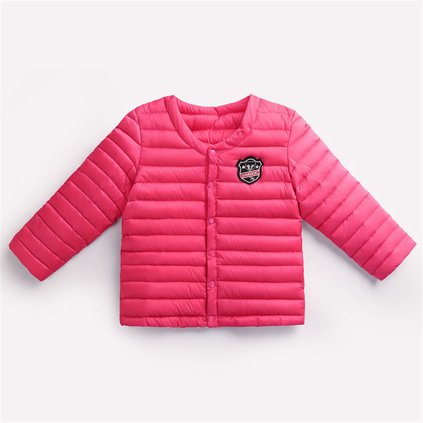 2017 New Quality thick warm boys and girls new stripes llittle pink coat cotton-padded jacket for 0-4 Children winter clothОдежда и ак�е��уары<br><br><br>Aliexpress