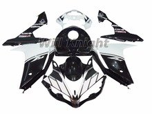 Injection Fairing Kit for Yahama YZF1000 YZF R1 2007 2008 ABS Injection Mold Black White