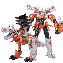 Cool Boy Toys Gifts Dragon Transformation Robot Cars Action Figures Movie 4 Children Classic Anime Plastics Toys Model Brinquedo(China)