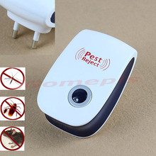 New Electronic Ultrasonic Anti Mosquito Insect Pest Mouse Repellent Repeller EU Plug MAY22