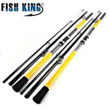 FISHKING 99% Carbon 3 Section 3.6M 3.9M 4.2M 4.5M Carp Fishing Rod Peche Pesca Tackle Outdoor Sports