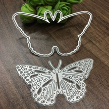 Buy Hot Metal Butterfly Cutting Dies Stencils DIY Scrapbooking/photo album Decorative Embossing DIY Paper Cards for $1.29 in AliExpress store