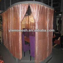 Metallic sequin cloth curtain/Shimmer metal sequin fabric