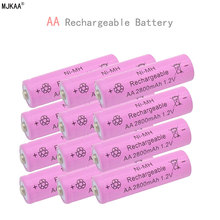 12pcs a lot Ni-MH 2800mAh AA Batteries 1.2V AA Rechargeable Battery NI-MH battery for camera,toys