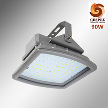 AC100-277v 50/60Hz IP68 UL ATEX 90w explosion proof LED light with u-shape bracket for zone 1 class I area(China)