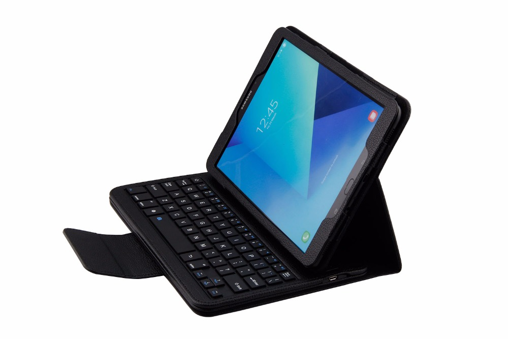 Fashion Bluetooth Keyboard case for  Samsung Galaxy Tab S3 9.7inch T820 Tablet PC for for  Samsung Galaxy Tab S3 T820  Keyboard<br>