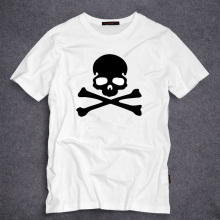 Mens T Shirts Fashion 2017 New Famous Brand Men Clothing Slim Fit PP Black Dead Skulls T Shirt Man T-shirts Tops Tees(China)