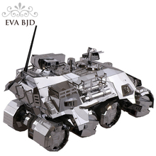 3D Metal Model Armored car Iron pioneer Puzzle Assembling Model Creative decoration Final Frenzy Creative gifts C0006