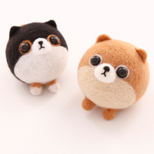 1 Set Non-finished Doll Felting Poke DIY Clothes Accessories Material Package Wool Felt Poked Free Shipping(China)